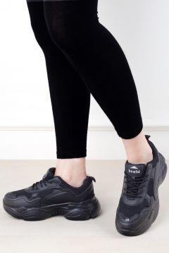 Eşle 20y Z 19044 Kadın Spor Ayakkabı Siyah(110954315)