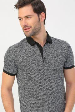 Fabrika Siyah Erkek Polo T-Shirt(113996125)
