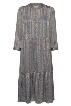 Naja Dress Maxikleid Partykleid Blau LOLLYS LAUNDRY(119352543)