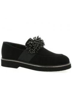 Chaussures Mitica Mocassins cuir velours(98530604)