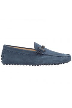 Men's suede loafers moccasins double t(118300171)