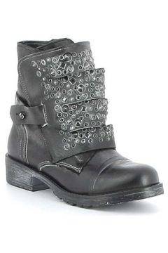 Boots Erman\'s Boots cuir à lacets avec sangle amovible(88531274)