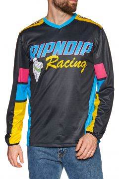 Rip N Dip Racing Team Longsleeve Jersey Langarm-T-Shirt - Black(108484999)