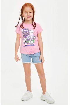 DeFacto Kız Çocuk Kısa Jean Şort(119063415)