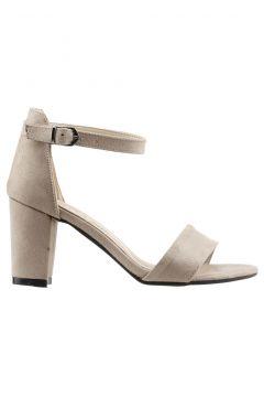 Ayakland Bej Kadın Topuklu Ayakkabı(120182494)