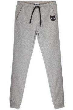 Pantalon enfant Karl Lagerfeld Pantalon gris(98528918)