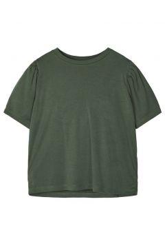 NAME IT Oversize Puffärmel T-shirt Damen Grün(110704228)