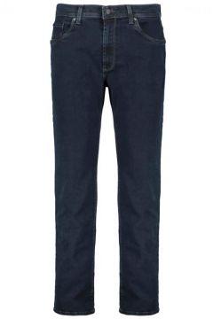Pioneer: Sehr elastische Jeans mit Ziernähten, 58, Dunkelblau(109278853)