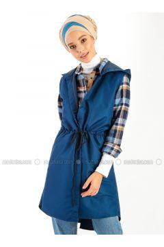 Navy Blue - Vest - Meys(110320226)