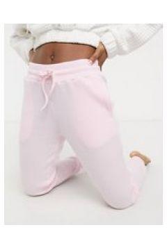 Chelsea Peers - Pantaloni da casa in jersey rosa-Crema(124785471)