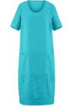 Abendkleid Kleid mit 1/2-Arm Anna Aura türkis(120925042)