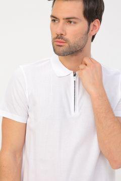 Fabrika Beyaz Erkek Polo T-Shirt(113995125)