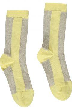 Zweifarbige Socken Lurex Elise(113867754)