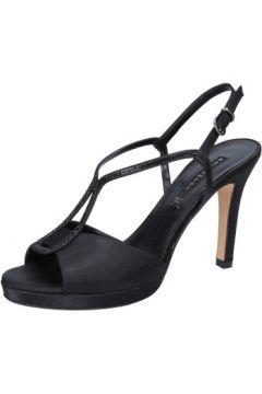 Sandales Bacta De Toi sandales noir satin BY97(115400889)