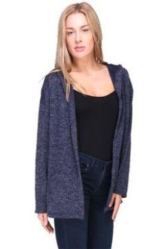 Gilet Cendriyon Tuniques Bleu Vêtements Femme(115438588)
