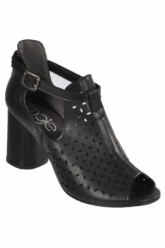 Maje 6050 Siyah Kadın Topuklu Ayakkabı(116838460)