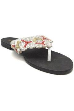 Tongs Cendriyon Tongs Argenté Chaussures Femme(101626912)