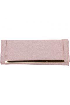 Pochette Made In Italia rosa textile or AB990(115545452)