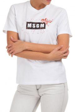 Women's t-shirt short sleeve crew neck round logo cupido(123053660)