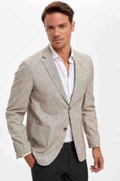 DeFacto Erkek Modern Fit Blazer Ceket(125922998)