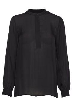 Pisa Shirt Bluse Langärmlig Schwarz LOVECHILD 1979(114153444)