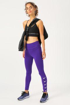 Nike Swoosh Logolu Kadın Koşu Tayt(116991295)