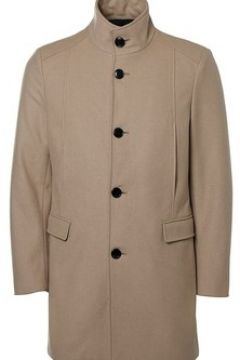 Manteau Selected Manteau en drap de laine H Beige(115408725)