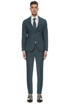 Pal Zileri Erkek Petrol Yün Takım Elbise Mavi 52 IT(126433452)