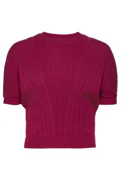 Dafne T-Shirts & Tops Knitted T-Hemd/tops Rot MAX&CO.(119860070)