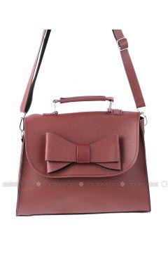 Maroon - Shoulder Bags - AKZEN(110320441)