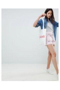 ASOS DESIGN - Shorts mit abnehmbarer Gürteltasche - Rosa(83154949)