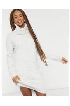 Pimkie - Vestito maglione con collo alto grigio(124800872)
