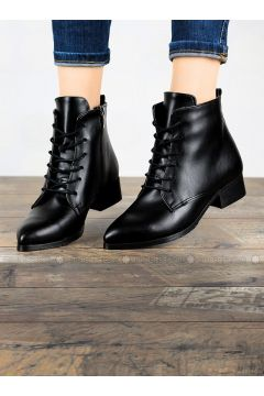 Black - Boot - Boots - Angelshe(110340367)