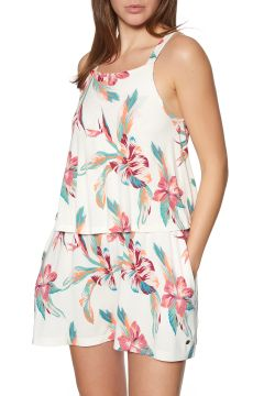 Playsuit Femme Roxy Favorite Song - Snow White Tropic Call(111328149)