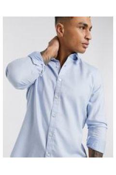 BOSS - Lukas - Camicia a maniche lunghe-Blu(127297310)