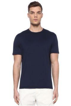 Kiton Erkek Lacivert Basic T-shirt M EU(107864075)
