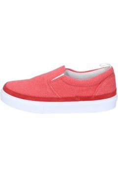 Chaussures Bark slip on rouge corallo textile daim AG583(115393485)