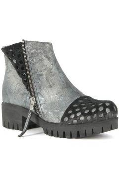 Bottines Papucei Boots en cuir perforées(127943034)