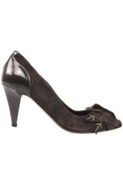 Chaussures escarpins Braccialini escarpins marron daim AN65(115393309)