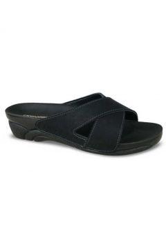 Ceyo Siyah Kadın Sandalet(110973783)