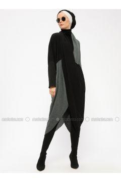 Black - Khaki - Dresses - Miorespiro(110335504)