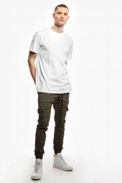 tigha Herren T-Shirt Kjartan weiß (white)(113747331)