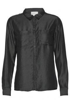 15 The Denim Shirt Langärmliges Hemd Schwarz DENIM HUNTER(114154413)