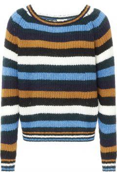 Gestreifter Mohair-Pullover - Damenkollektion -(117377817)