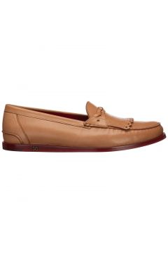 Men's leather loafers moccasins(118299394)