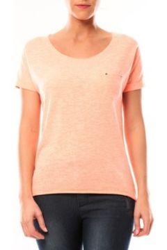 T-shirt By La Vitrine Tee shirt S13090 Corail(127980839)