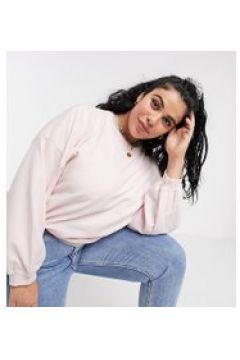 Urban Bliss Plus - Maglione rosa con maniche a palloncino(112349481)