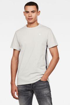 G-Star RAW Men Side Stripe GR T-Shirt Grey(117927182)