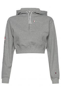 Hooded Sweatshirt Hoodie Pullover Grau CHAMPION(116469761)