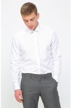 Network Beyaz Desenli Gömlek(114003235)